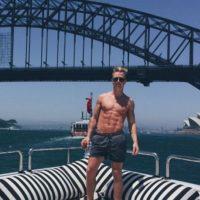 Scott Myrick fue uno de los hombres tras el traje de estos animales marinos Foto:vía instagram.com/scott_myrick