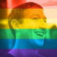 Más de 26 millones de personas aplicaron un filtro con los colores del arco iris a sus fotos del perfil de Facebook para mostrar su apoyo a la comunidad LGBT (lesbianas, gays, bisexuales y transgénero). Foto:vía Facebook.com