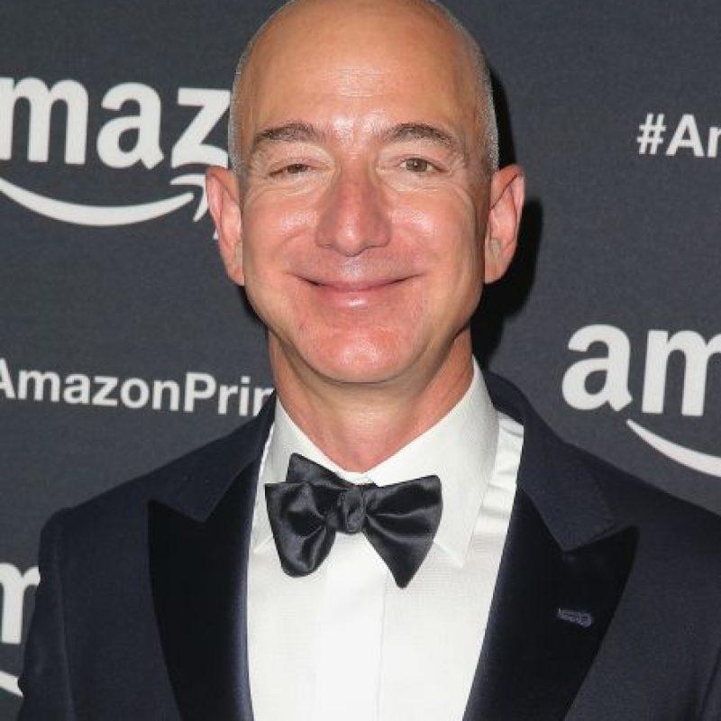 El fundador de Amazon fue la persona del año por los cambios que representaba la tienda online para el comercio en Internet. Foto:Getty Images