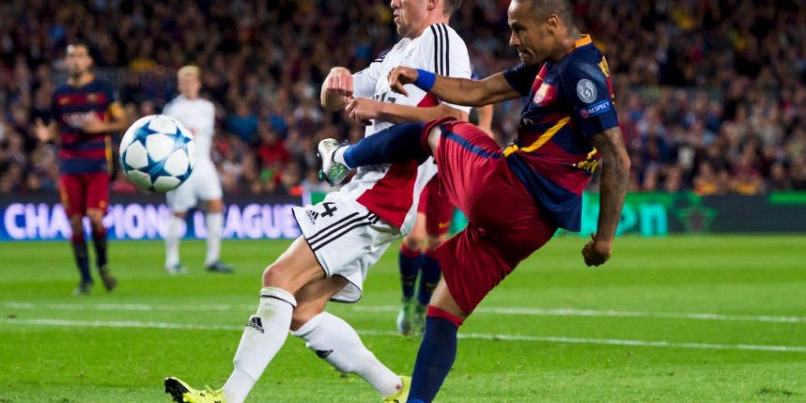 Barcelona no contará con Neymar, quien se lesionó de un abductor de la pierna izquierda Foto:Getty Images