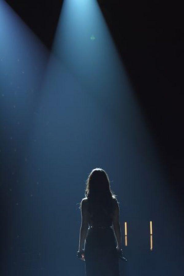 Selena Gómez, Ellie Goulding y The Weeknd fueron los encargados de poner el ritmo a la pasarela del Victoria's Secret Fashion Show. Foto:Getty Images