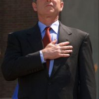 Al ganar su primer mandato. Foto:Getty Images