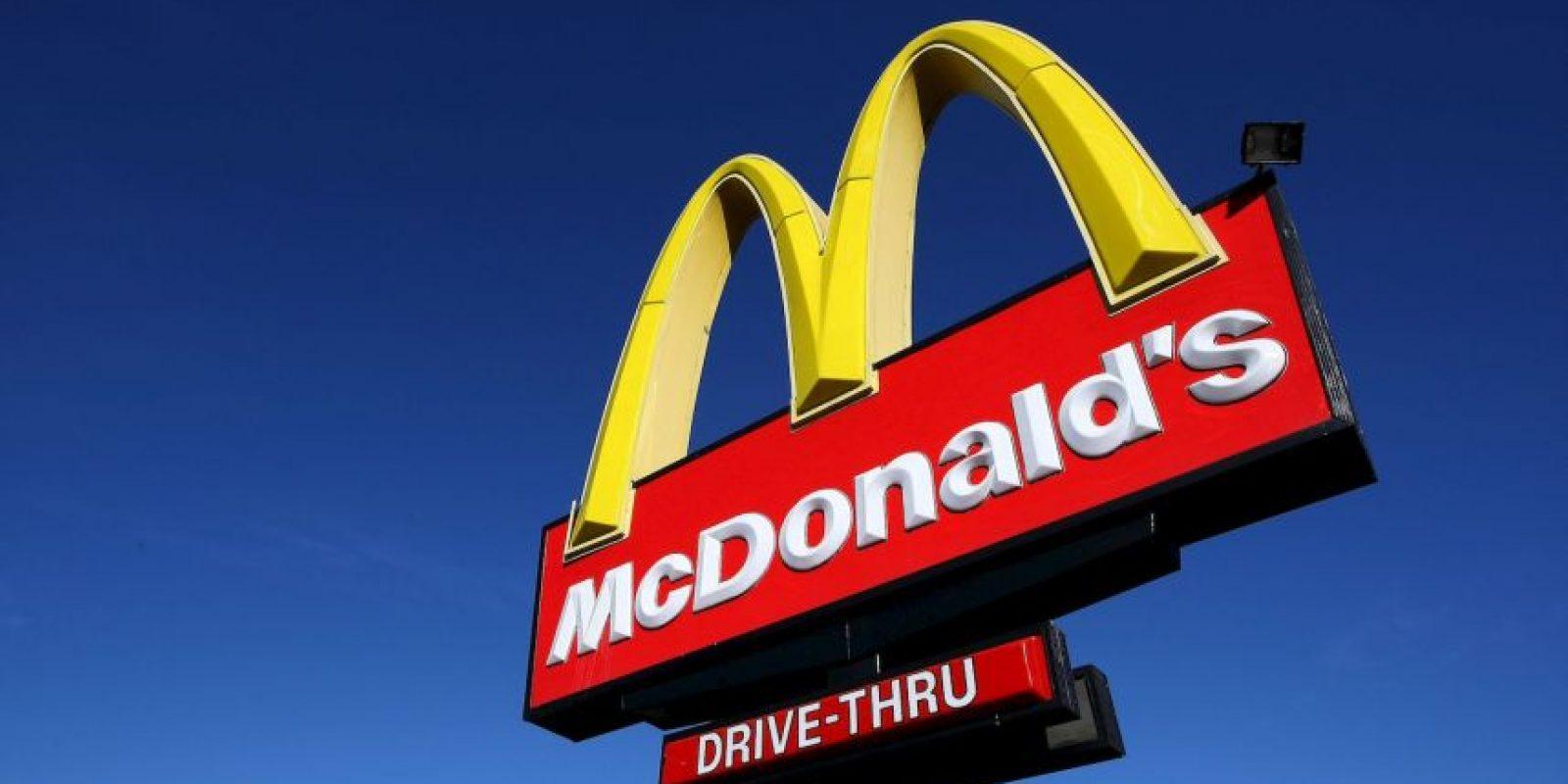 5. El precio de un menú en McDonalds (promedio) Foto:Getty Images