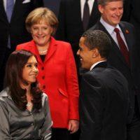 2009, en reunión del G-20 Foto:Getty Images