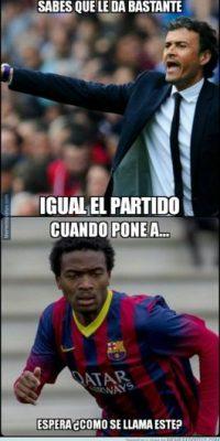 """Y con jugadores que """"nadie"""" conoce. Foto:memedeportes.com"""