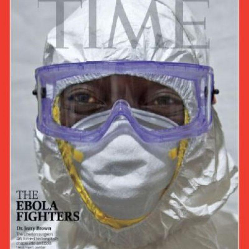 2014- Los luchadores contra el Ébola Foto:Vía Time
