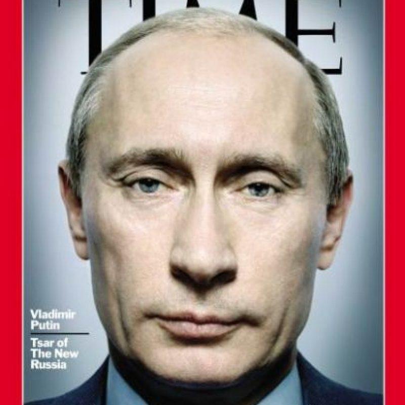 2007- Vladimir Putin, presidente de Rusia Foto:Vía Time