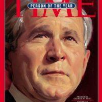 2004- George W. Bush Foto:Vía Time