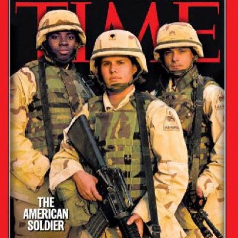 2003- Soldados estadounidenses Foto:Vía Time