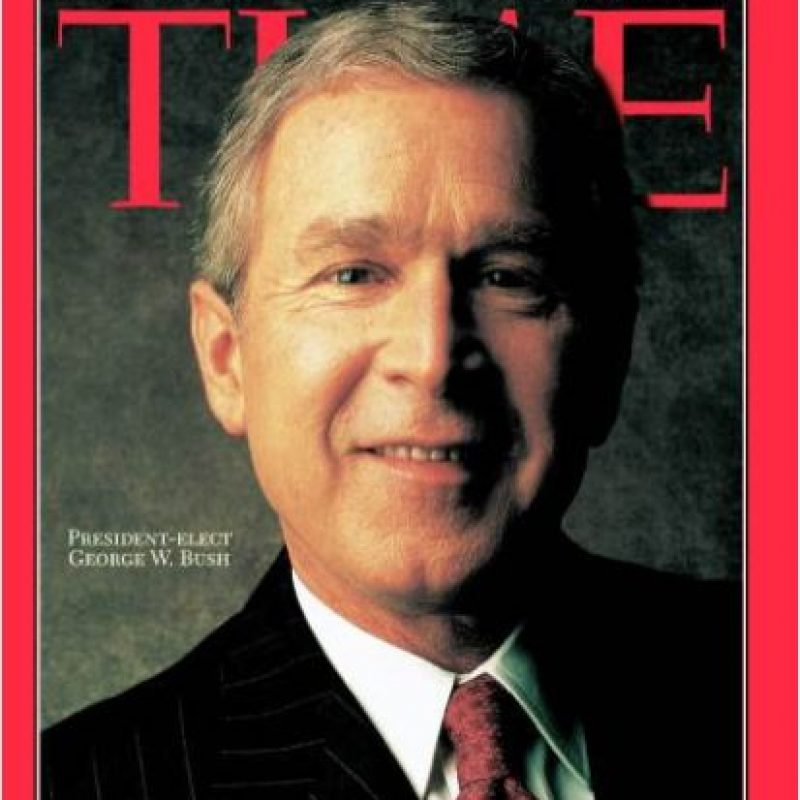 2000- George W. Bush Foto:Vía Time