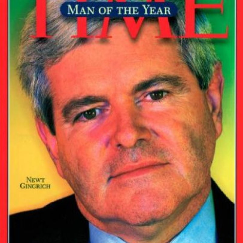 1995- Newt Gingrich Foto: Vía Time