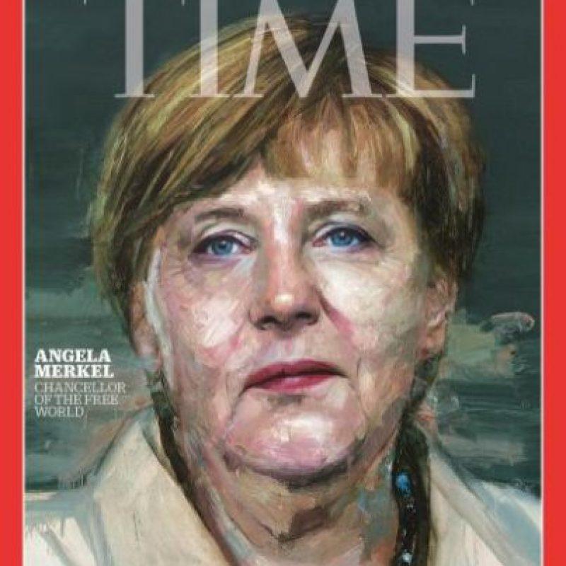 2015- Angela Merkel Foto:Vía Time