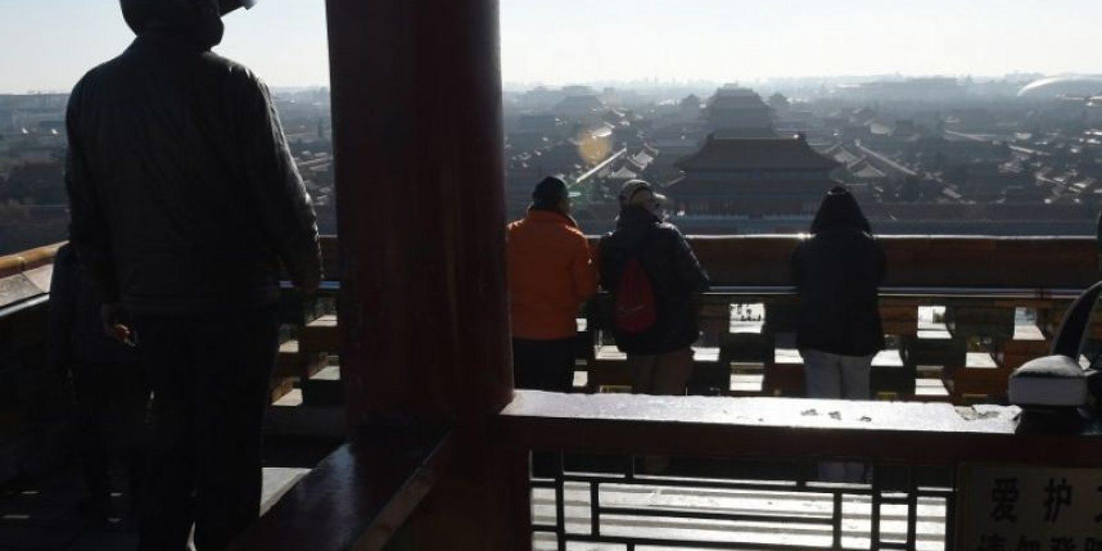 De acuerdo a la Organización Mundial de la Salud, una ciudad segura debe registrar máximo 25 microgramos por metro cúbico de partículas PM 2.5 Foto:AFP