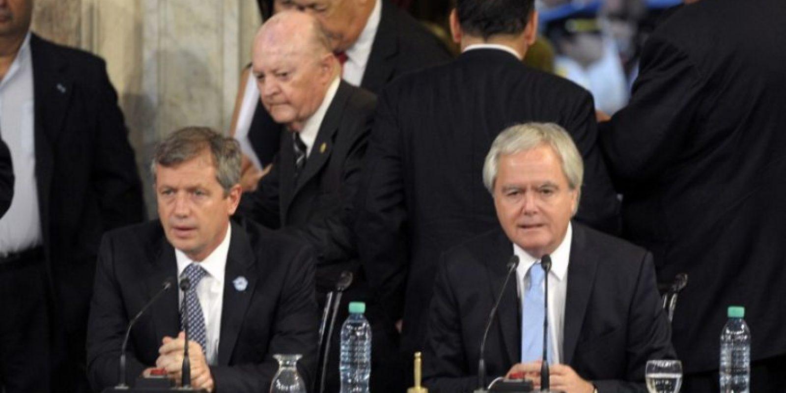 El presidente rindió juramento en el Congreso Foto:AFP