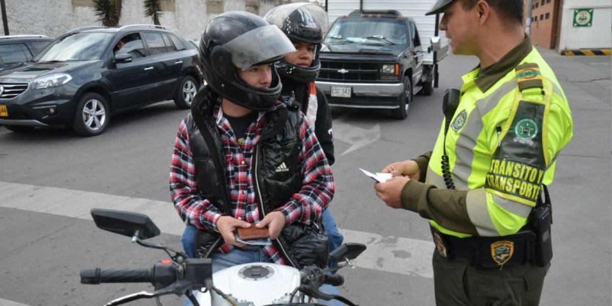 Preocupantes cifras de accidentabilidad de motociclistas en Bogotá