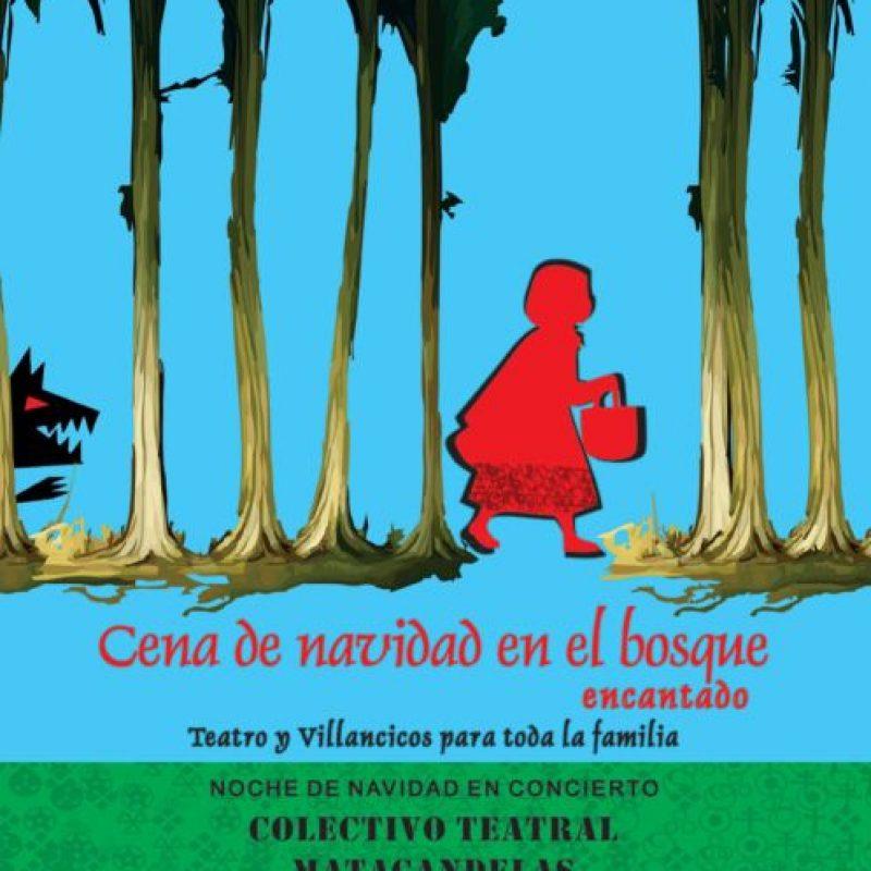 Noche de navidad en concierto, 'Cena de navidad en el bosque encantado', teatro y villancicos para toda la familia. Foto:Tomada: Teatro Pablo Tobón Uribe