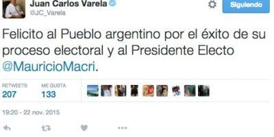 Juan Carlos Varela, presidente de Panamá Foto:Twitter.com