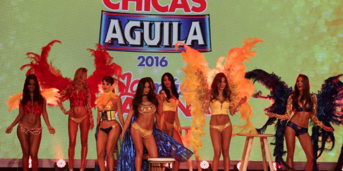 Fotoreportaje: las nuevas Chicas Águila y su derroche de sensualidad