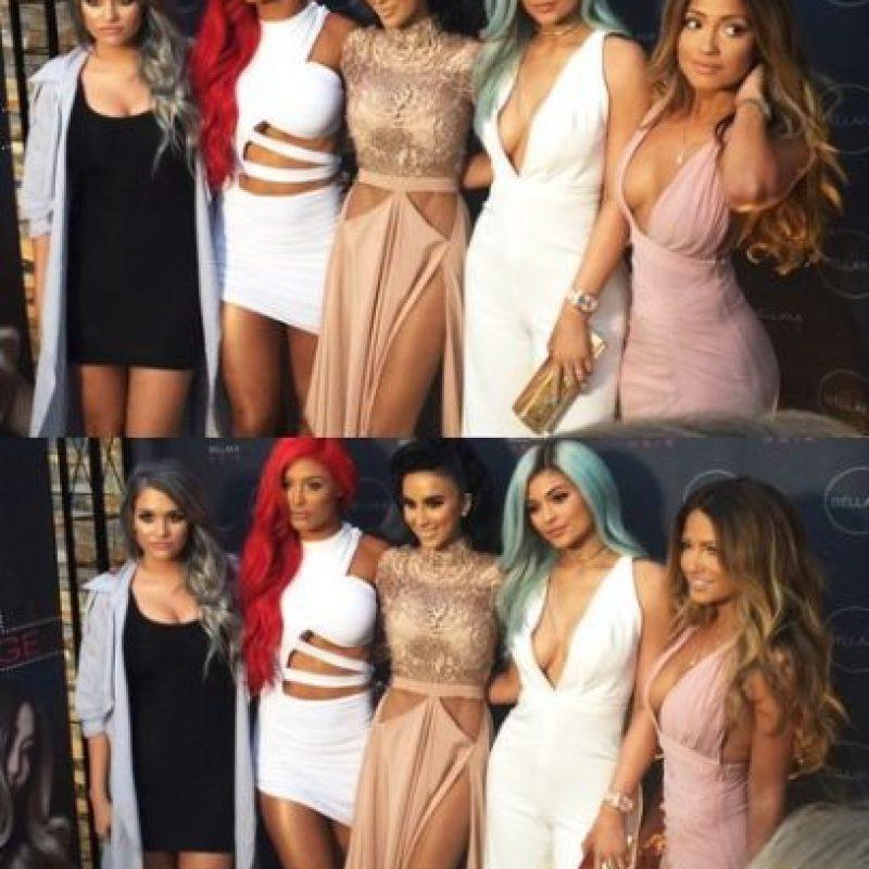 Como Kylie Jenner. Foto:vía instagram.com/jessicaburciaga