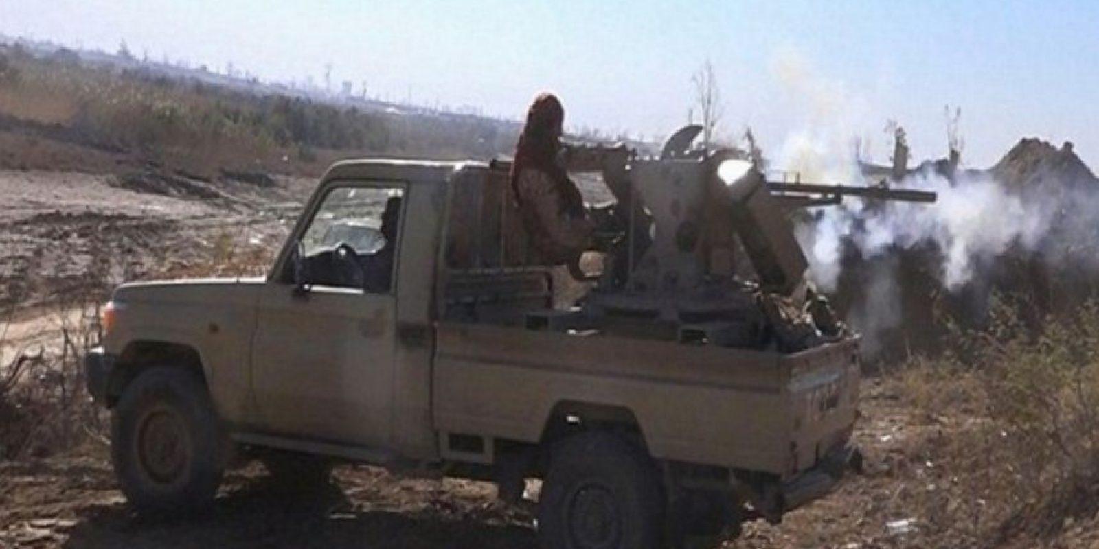 """""""Con este arsenal, el Estado Islámico ha cometido abusos graves"""", señala la organización internacional Foto:Twitter.com – Archivo"""