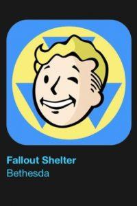 """3- """"Fallout Shelter"""". Es gratuito. Creen el refugio perfecto, lideren a sus moradores y repueblen la tierra. Foto:vía Apple"""
