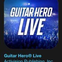 """17- """"Guitar Hero Live"""". Es gratuito. Jueguen Guitar Hero Live en iPad, iPhone o iPod touch, o disfruten de la experiencia desde su propio salón, en el televisor. Foto:vía Apple"""
