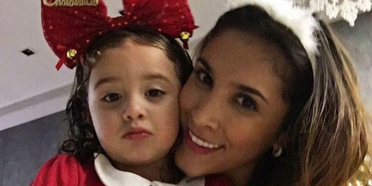 Fotos: Daniela y Salomé le preparan una feliz navidad a James