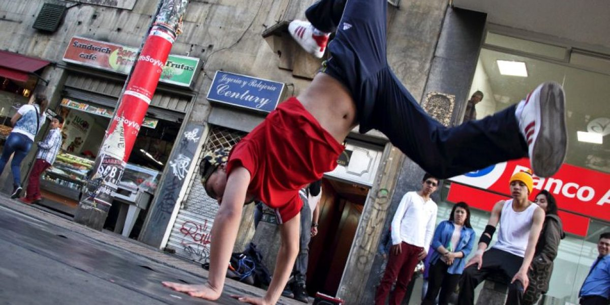 Fotorreportaje: Break dance en las calles bogotanas