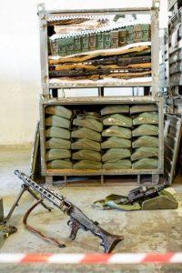 Fusiles para francotirador Steyr de Austria Foto:Getty Images