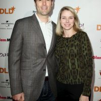 Marissa Mayer y Zachary Bogue se casaron en 2009. Foto: Getty Images