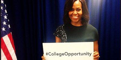 Obama siempre se ha preocupado por la educación Foto:Vía instagram.com/michelleobama/