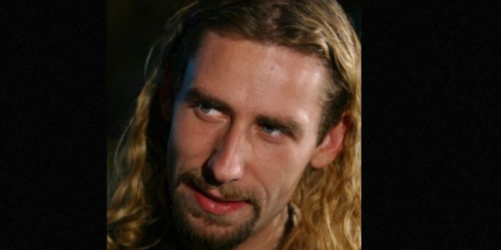 "Chad Kroeger, de ""Nickelback"". Foto: vía Getty Images"