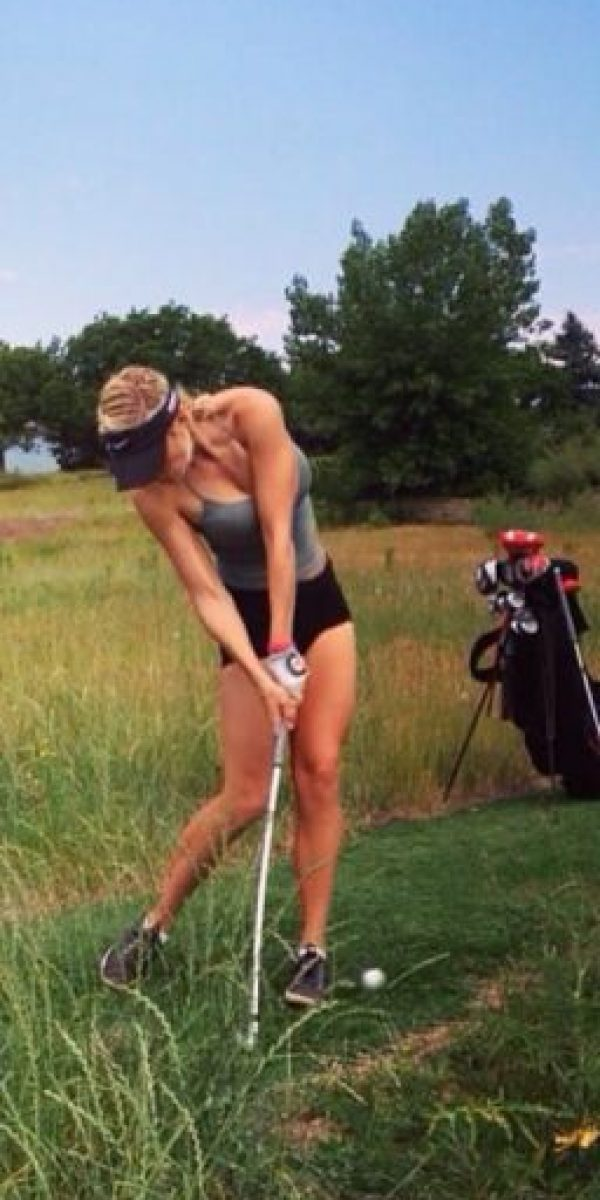 "Ha posado en sitios como ""Golf Digest"", ""Total Frat Move"" y ""The Roosevelts"". Foto: Vía instagram.com/_paige.renee"
