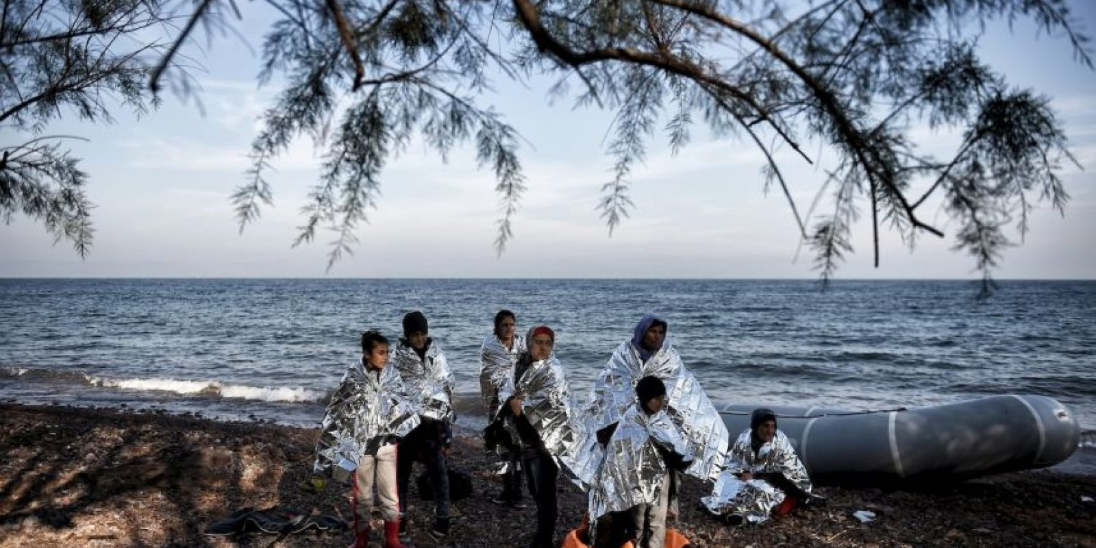 En lo que va de año más de tres mil personas han fallecido en el mar. Foto:AFP