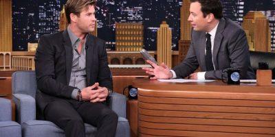 """La noche de ayer, el actor australiano fue el invitado del programa """"The Tonight Show"""" conducido por Jimmy Fallon. Foto:Getty Images"""