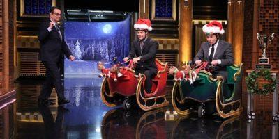Jimmy Fallon, el presentador del programa. Foto:Getty Images