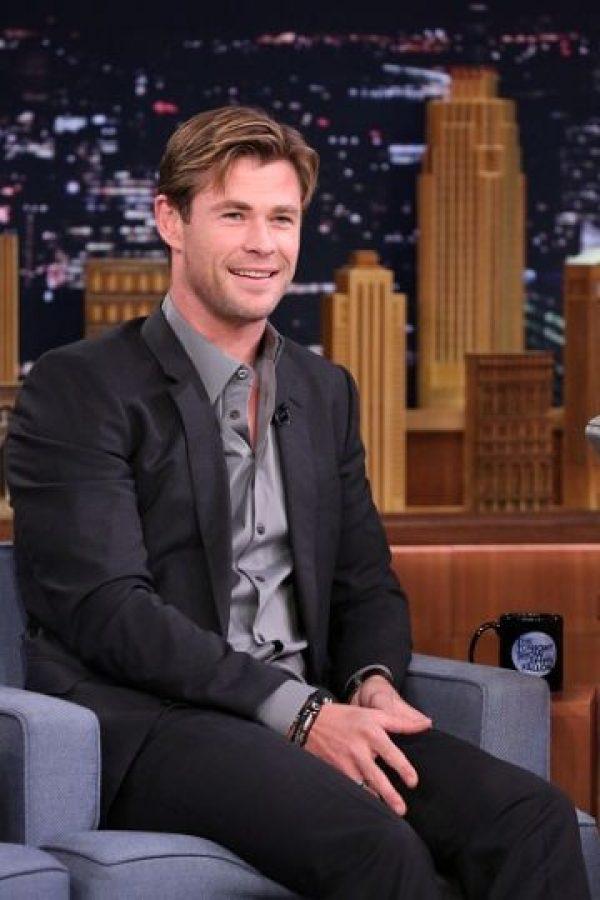"""Chris Hemsworth se encuentra promocionando su más reciente película """"In the Heart of the Sea"""". Foto:Getty Images"""