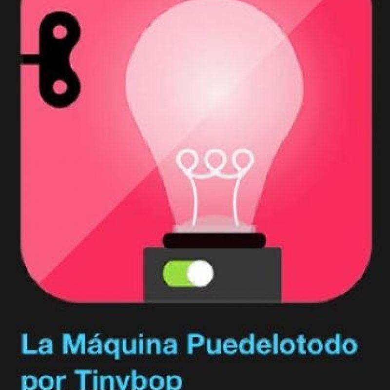 """3- """"La Máquina Puedelotodo por Tinybop"""". Cuesta tres dólares y los más pequeños pueden inventar sin límites usando programación visual. Foto:Apple"""