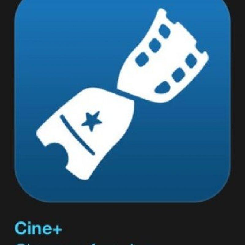 """10- """"Cine+"""". Es gratuita y muestra la cartelera de cinemas en México. Foto:Apple"""
