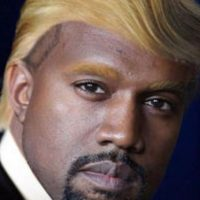 Para ver a Kanye como Presidente. Foto:vía Facebook