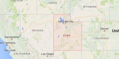 El matrimonio y se conocieron en las calles de Utah, estado al suroeste de Estados Unidos Foto:Google Maps