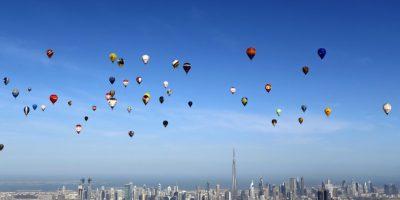 Juegos Aéreos Mundiales 2015 en Dubái. Foto:AFP
