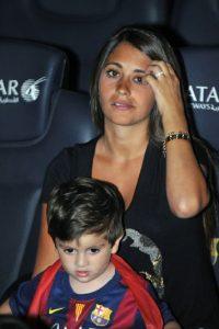 Su primer hijo, Thiago, nació el 2 de noviembre de 2012 y hoy tiene tres años. Foto:Getty Images