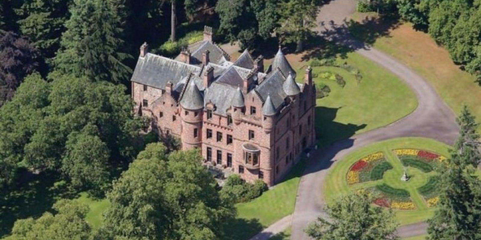 2. El castillo que compró en Escocia. Foto:Pinterest