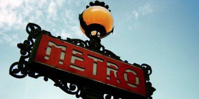 El Metro de París es el primer sistema de trenes subterráneos que tomó ese nombre Foto:Wikimedia