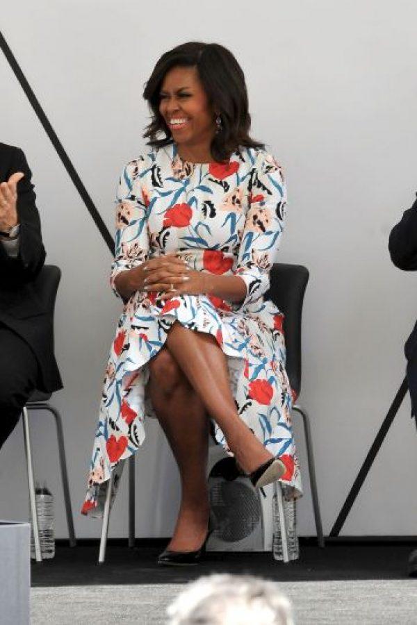 Michelle Obama tiene un sencillo, pero original sentido de la moda. Foto:Getty Images