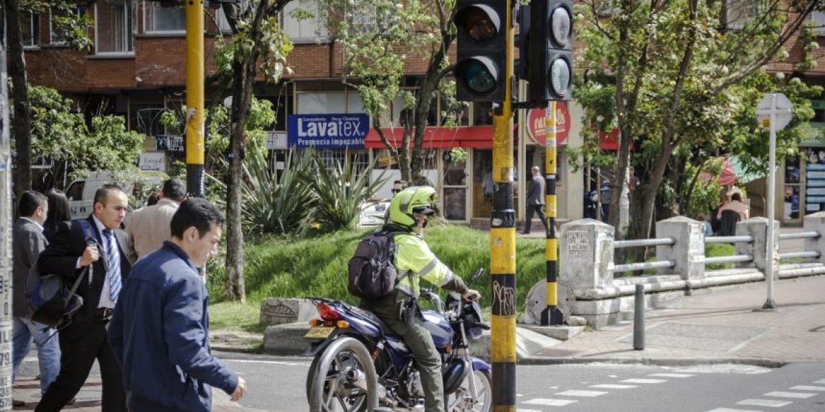 Fotorreportaje: Las infracciones más usuales de los motociclistas de Bogotá