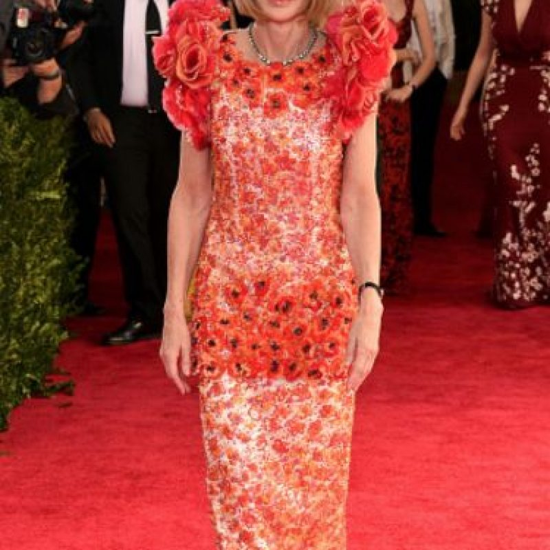 A Anna Wintour Karl Lagerfeld la odia. Foto:vía Getty Images