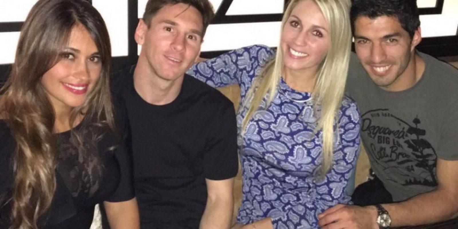 Lionel Messi y Antonella Roccuzzo son pareja desde 2008 Foto:Vía instagram.com/leomessi