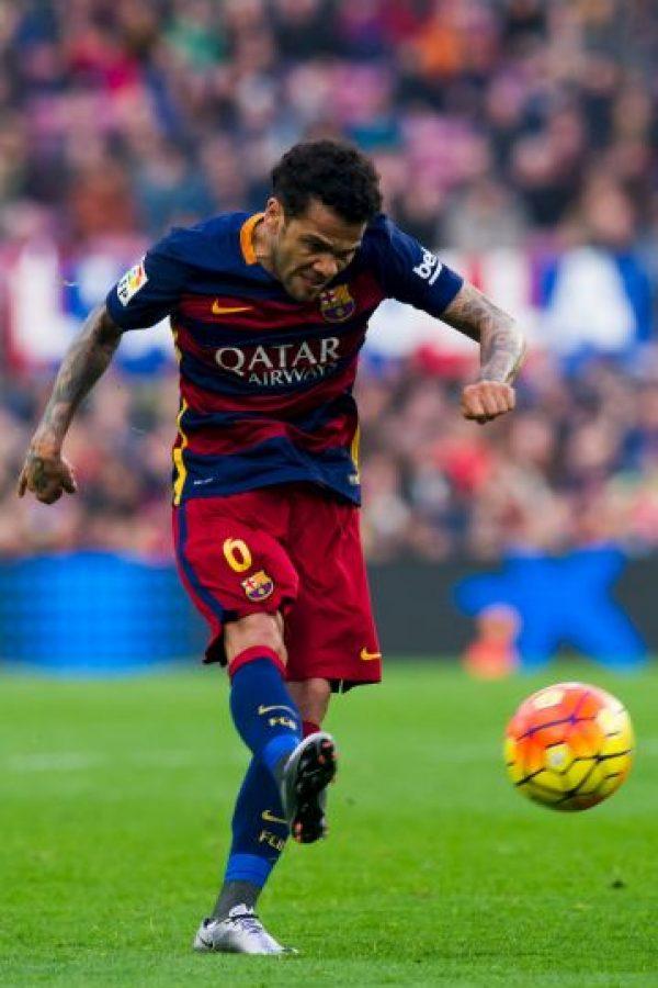 DEFENSAS: Dani Alves (Barcelona) Foto:Getty Images